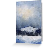 County Mayo Snow Greeting Card