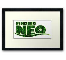 Finding Neo Framed Print