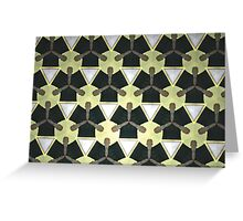 Prismatic Texture 64 Greeting Card
