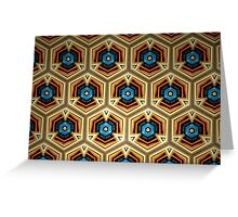 Prismatic Texture 65 Greeting Card