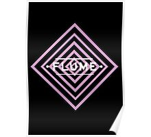 Flume psy - black Poster