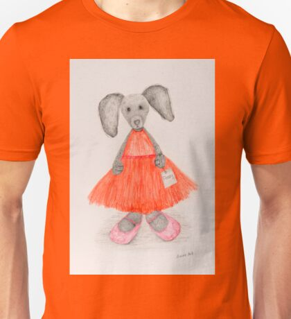 Flossy Rabbit Unisex T-Shirt