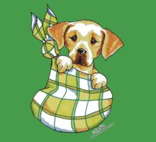 Yellow Lab Puppy Special Delivery Kids Tee