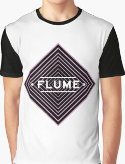 Flume psychedelic - white Graphic T-Shirt