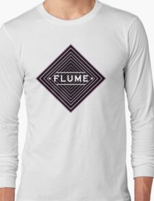 Flume psychedelic - white Long Sleeve T-Shirt