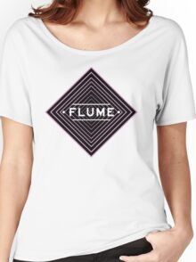 Flume psychedelic - white Women's Relaxed Fit T-Shirt