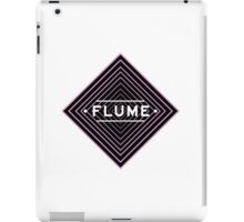 Flume psychedelic - white iPad Case/Skin