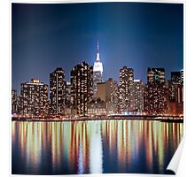 The reflection of a big city - NYC Poster