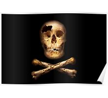 Fantasy - Pirate Flag - I'm a mighty pirate Poster