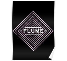 Flume spychedelic - Black Poster