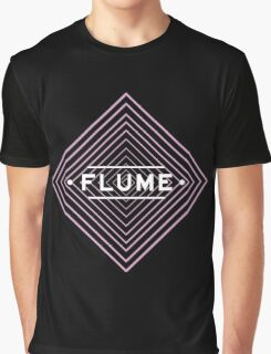 Flume spychedelic - Black Graphic T-Shirt