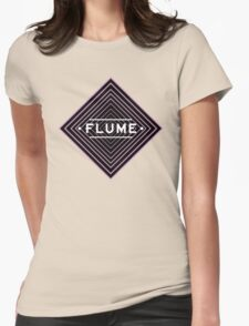 Flume spychedelic - Black Womens Fitted T-Shirt