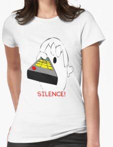 Dogbert Silence Womens Fitted T-Shirt
