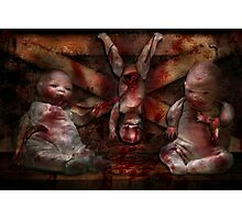 Macabre - Dolls - Having a friend for dinner Photographic Print