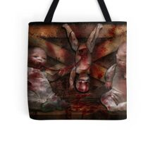 Macabre - Dolls - Having a friend for dinner Tote Bag