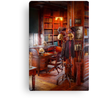 Macabre - In the Headhunters study Canvas Print