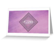 flume - original Greeting Card