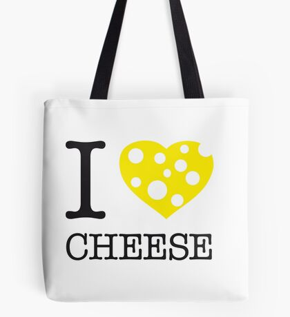 I ♥ CHEESE Tote Bag