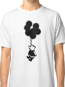 Flying Balloon Bear Classic T-Shirt