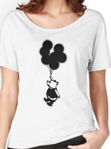 Flying Balloon Bear Women's Relaxed Fit T-Shirt