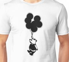Flying Balloon Bear Unisex T-Shirt