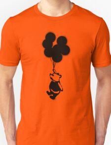 Flying Balloon Bear Unisex T-Shirt