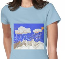 Snow Lady Womens Fitted T-Shirt