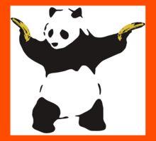 Bad Panda Stencil Kids Tee