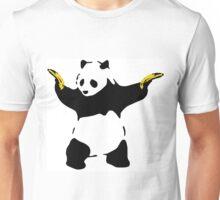 Bad Panda Stencil Unisex T-Shirt