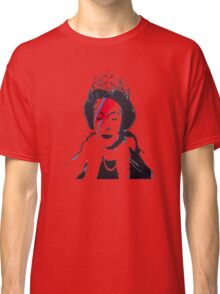 God Save The Queen Stencil Classic T-Shirt