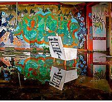 Abandon Building  7 by John Van-Den-Broeke