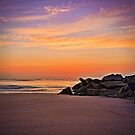 Sunrise - Vilano Beach, St. Augustine, Florida by Ali Zaidi