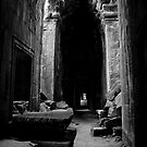 Cambodia Noir - Ancient Wonder by Tyson Battersby