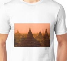 Stupas In The Mist Unisex T-Shirt