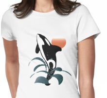 Orca Womens Fitted T-Shirt