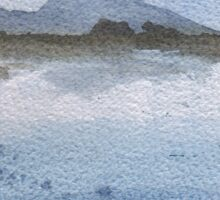 Croagh Patrick in Winter Sticker