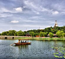 Beihai park in Beijing, China. by Svisho