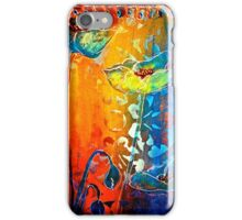 The Poppy Journals...Blue and Red iPhone Case/Skin