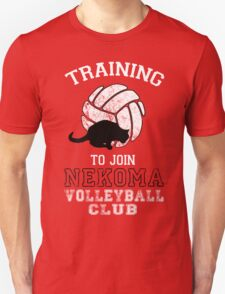 Training to join Nekoma Volleyball Club T-Shirt