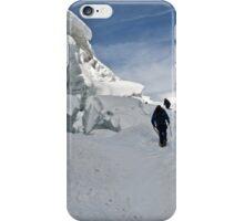 climbing weissmies iPhone Case/Skin