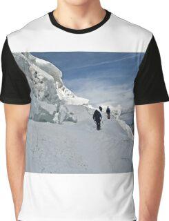 climbing weissmies Graphic T-Shirt