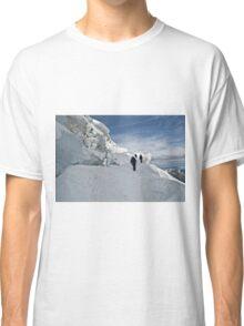 climbing weissmies Classic T-Shirt