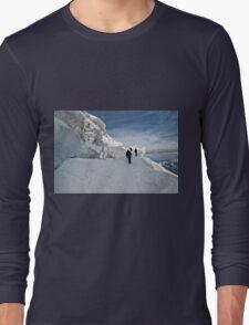 climbing weissmies Long Sleeve T-Shirt