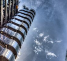 Lloyd's of London and Cheese Grater Sticker