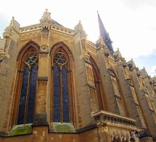 Exeter College Chapel by Julia Milner