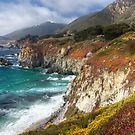 Big Sur Cliffs by Brendon Perkins