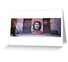 Che Guevara graffiti. Greeting Card