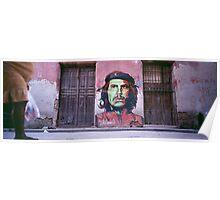 Che Guevara graffiti. Poster