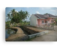 tropical house Metal Print