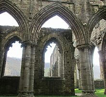 Ruins of Tintern by Julia Milner